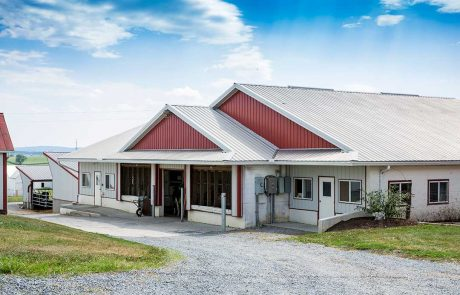 Barn Addition by Creek View Construction