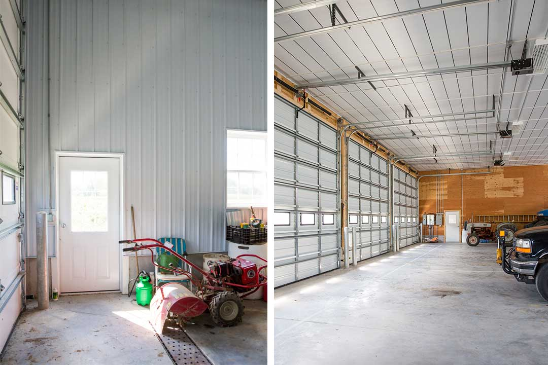 40′ x 88' Pole Building by Creek View Construction