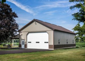 32' x 56' Garage by Creek View Construction