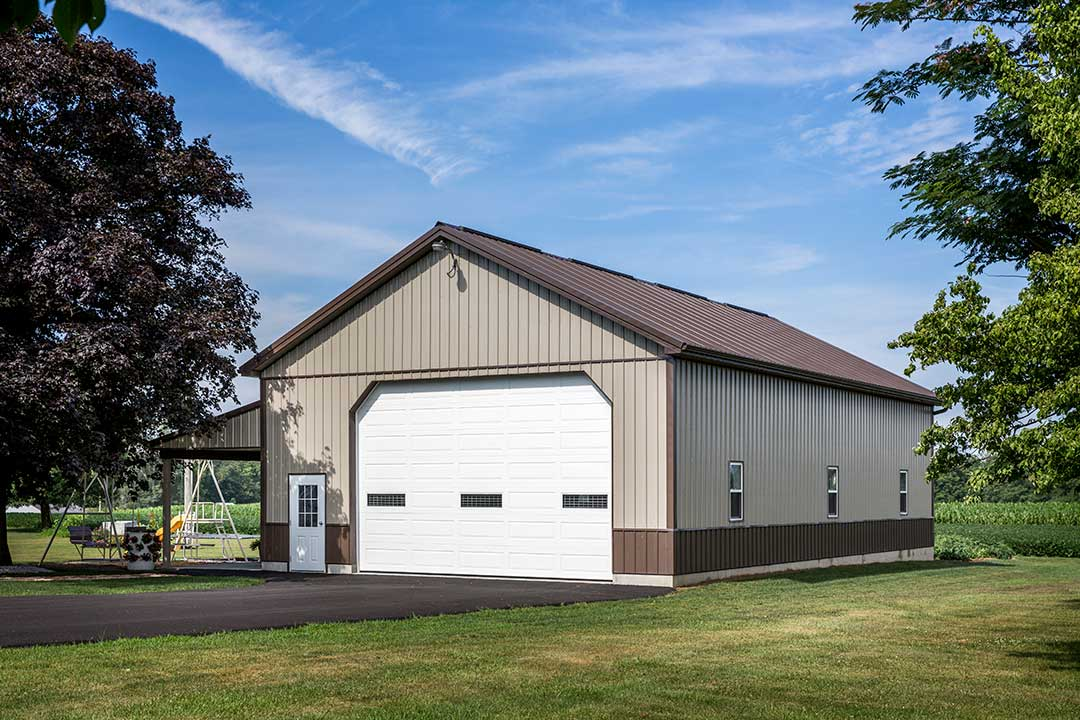 32 39 x 56 39 hoover garage womelsdorf pa creekview for Garage building contractors