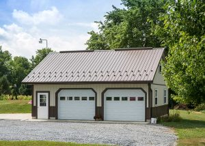 26' x 30' Garage by Creek View Construction