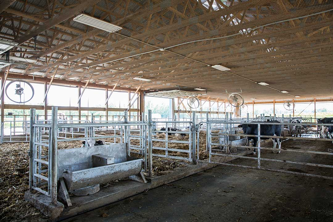 68x128 Dry Cow Barn by Creek View Construction