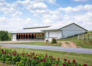 58′ x 152′ Heifer Barn by Creek View Construction