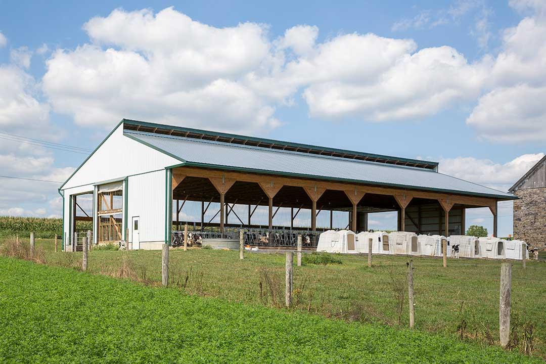 60'x 100′ Hoover Heifer Barn – Robesonia, PA